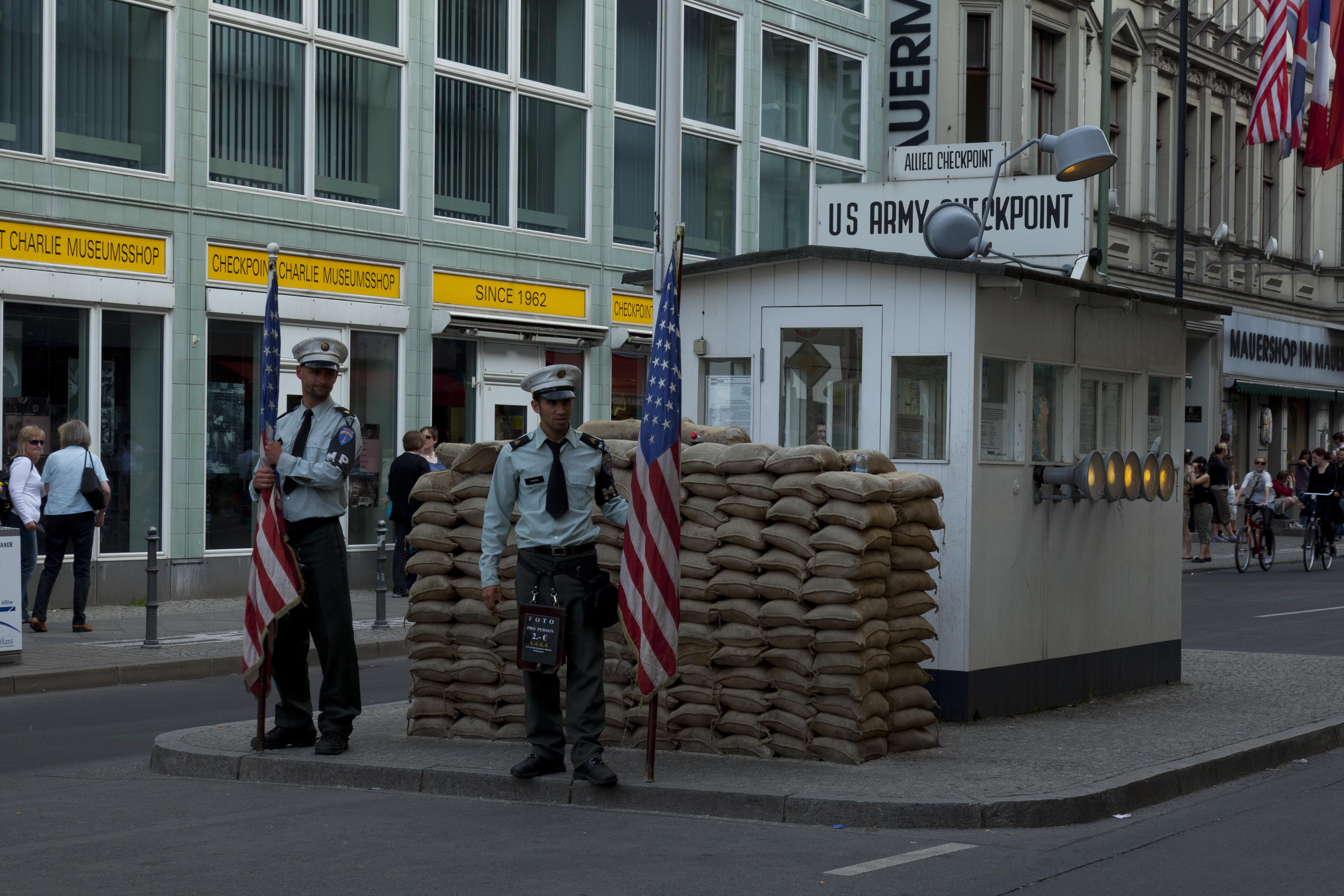 Germany Checkpoint Charlie Check Point Charlie